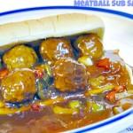 Meatball Sub Sandwich @10minutedinners