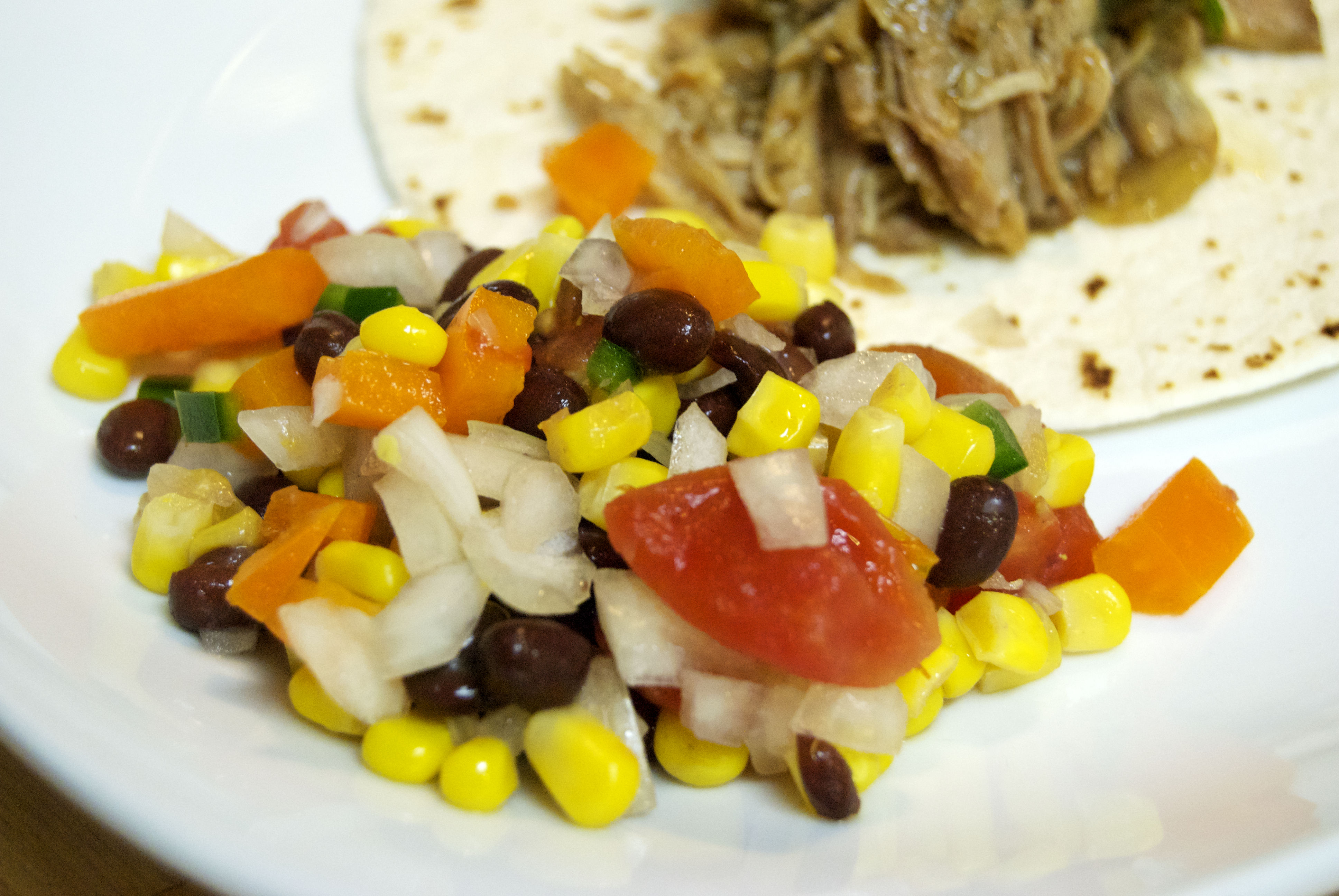 Black Bean and Corn Salsa with Lime