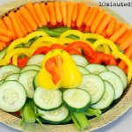 Vegetable-Tray Thanksgiving