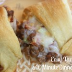 Enjoy this Delicious Taco Ring at 10minutedinners.com
