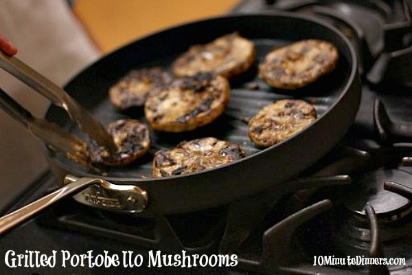 Grilled Portobello Mushroom Recipe, Grilled Portobello Pizza Burgers