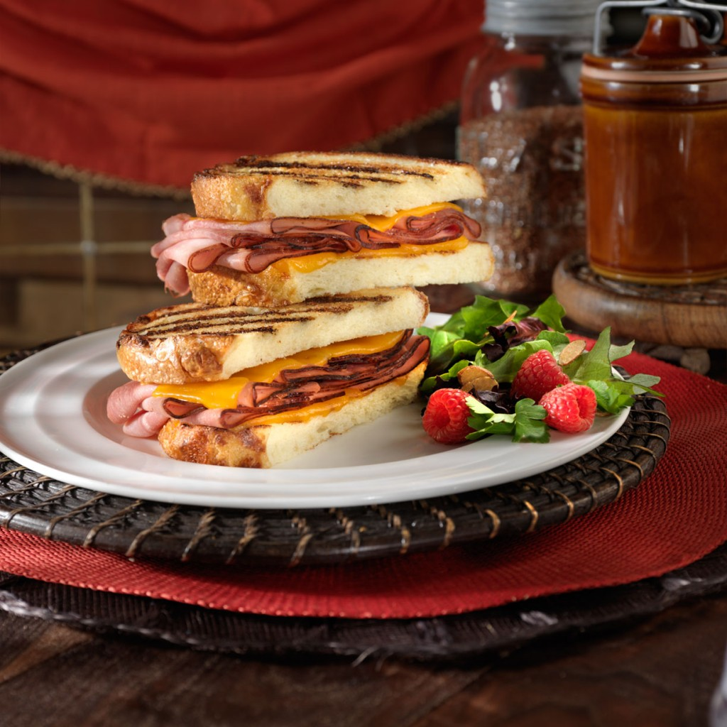 Black Forest Ham and Cheese Panini - 10 Minute Dinners