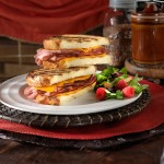 Black Forest Ham and Cheese Panini @ 10minutedinners