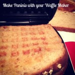 Make Panini using waflle maker