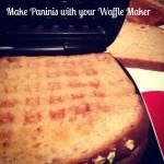 Make Panini using waflle maker