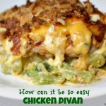 Easy Chicken Divan @10MinuteDinners