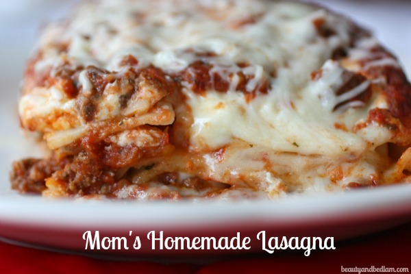 Whip It Up Quick Homemade Lasagna Recipe 10 Minute Dinners