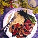 Pork-Tenderloin-with-Blueberry-Sauce