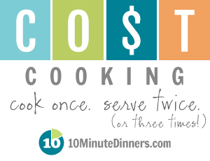 COST-cooking Cook Once Serve Twice